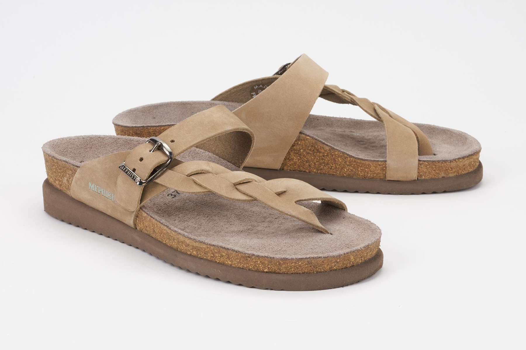 aa306c0dd02b HELEN TWIST Sandal - MEPHISTO Women s Cork Footbed Sandals