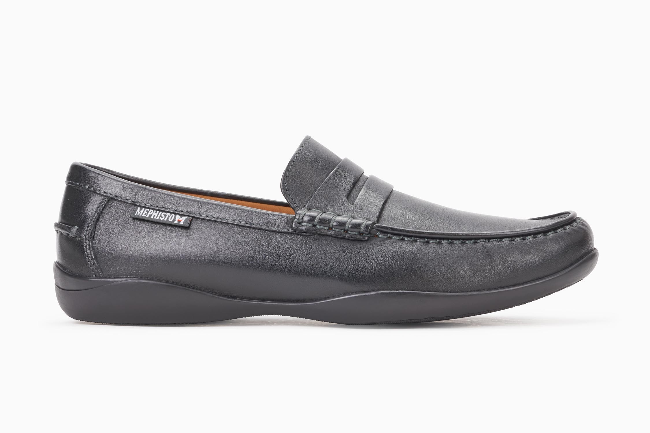 7715d356969 IGOR Slip-on - MEPHISTO Men's Loafers and Slip-ons | Smooth leather, black