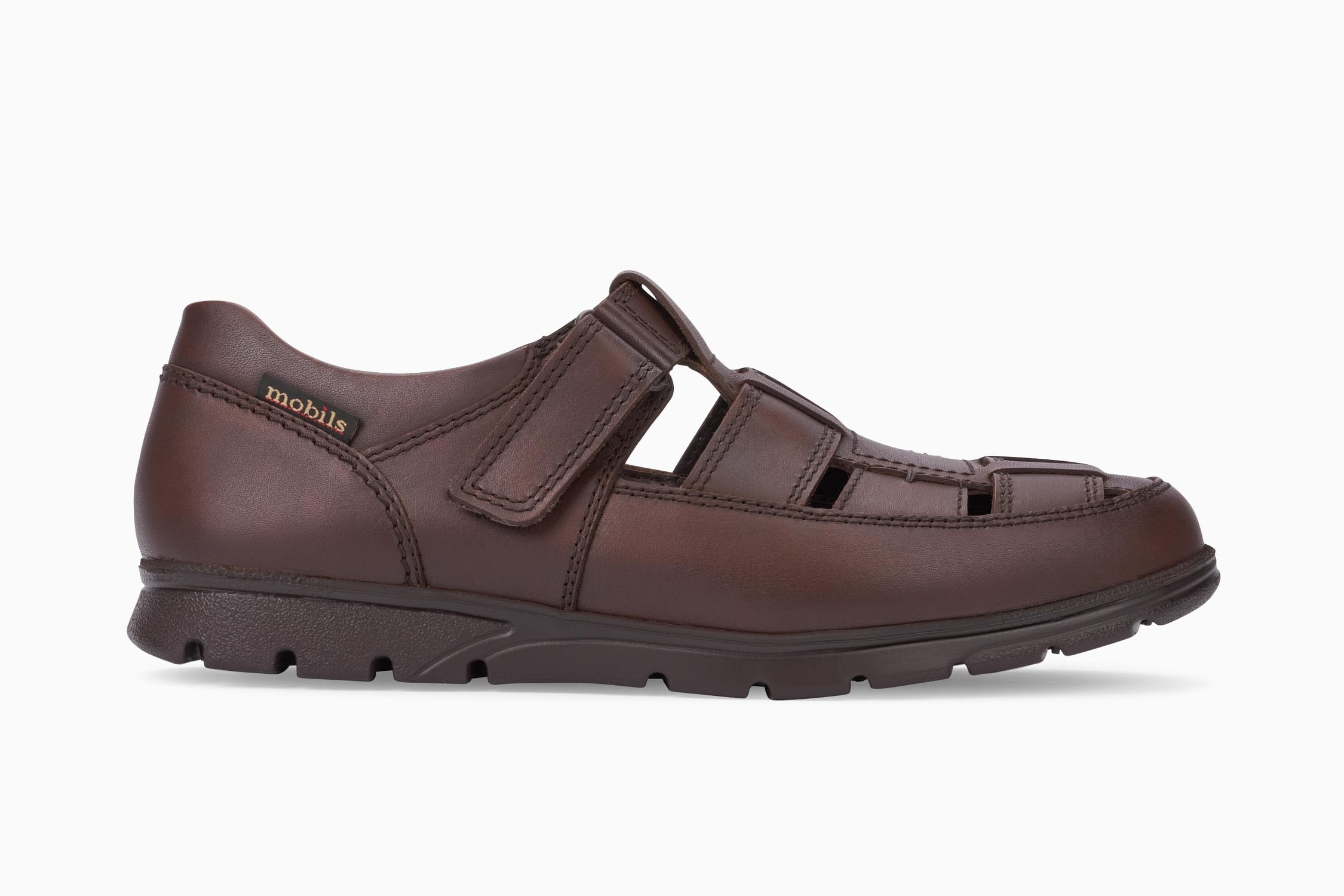 d93a22707e KENNETH Slip-on - MOBILS Men's Loafers and Slip-ons | Leather with pattern,  dark brown