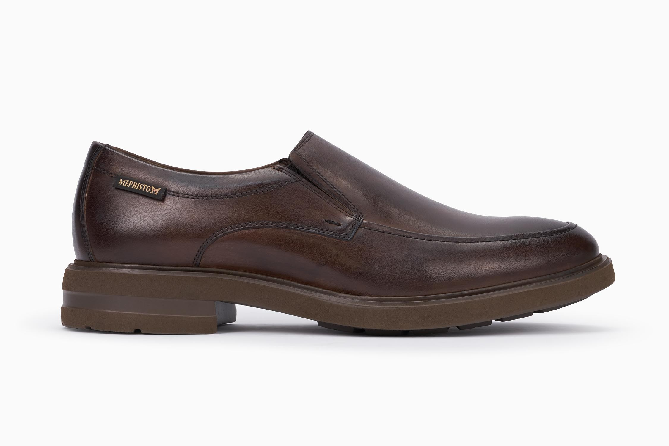 a10b0d9a58 ORSO Slip-on - MEPHISTO Men's Loafers and Slip-ons | Leather, Dark Brown